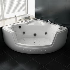 Seattle Baignoire Baln O D 39 Angle Whirlpool 38 Jets Jets