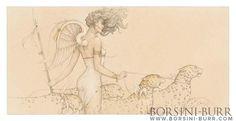 Five Leopards | Borsini-Burr Gallery
