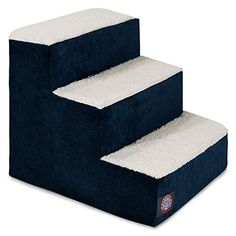 3 Step Portable Pet Stairs By Majestic Pet Products Villa Navy Blue Steps for Cats and Dogs   Check it out-->  http://mypets.us/product/3-step-portable-pet-stairs-by-majestic-pet-products-villa-navy-blue-steps-for-cats-and-dogs/  #pet #food #bed #supplies