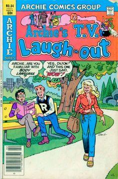 Archie's T.V. Laugh Out 84, Archie Comic Publications, Inc.  https://www.pinterest.com/citygirlpideas/archie-comics/