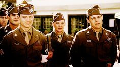 Band of Brothers - Points Eugene Roe, Johnny Martin & Floyd Talbert.