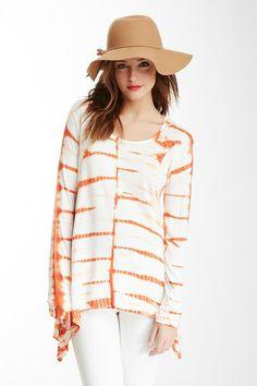 Tie-Dye Shirt by Romeo & Juliet Couture on @HauteLook