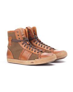 High Top Sneaker // Brown