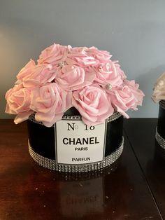 PARIS THEME BIRTHDAY Centerpiece, Paris Theme Bridal Shower Centerpiece, Paris Theme Sweet 16 Centerpiece, Paris 50th Birthday Centerpiece