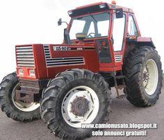 Camion usati e mezzi industriali: Fiat 1180 DTH  trattore agricolo 4x4 con cabina