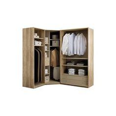extension d 39 angle pour dressing darwin de castorama pour. Black Bedroom Furniture Sets. Home Design Ideas