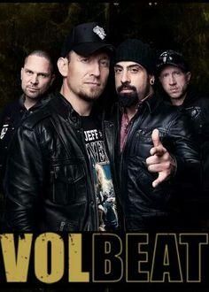 VOLBEAT such beautiful rockin men... Love these guys <3