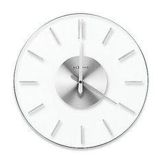 NeXtime Stripe Transparent Wall Clock $49.90