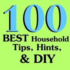 BEST Household Tips, Hints, & DIY
