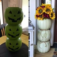 Easy Halloween Decorations, Halloween Crafts, Fall Crafts, Holiday Crafts, Thanksgiving Crafts, Holiday Decor, Seasonal Decor, Holiday Fun, Holiday Ideas