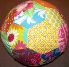 Handmade Oh So Chic Diva Soccer Ball Baby or Girls by SweetRiver -  great gift for my niece!