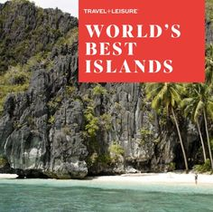 Daily Daydream! From Sicily to Palawan, escape to this year's hottest island getaways.