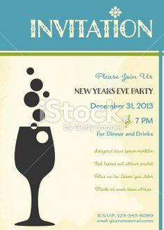 Free Printable New Years Eve Invitation Templates Greetings - Party invitation template: new years eve party invitation templates free