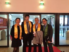 Representatives from the two Universities.