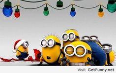 Minions at Christmas Cartoon HD desktop wallpaper, Christmas wallpaper, Merry Christmas wallpaper, Minion wallpaper, Despicable Me wallpaper - Cartoons no. Amor Minions, Cute Minions, Minions Quotes, Funny Minion, Minion Stuff, Minion Christmas, Christmas Humor, Christmas Time, Xmas
