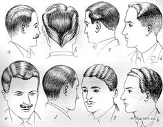 English hair styles of the 1930s