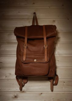 urbanemenswear: Leather backpack by A Kind of Guise fall/2011