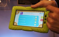 """At Toy Fair this week, tablets designed for kids seem to be popping up everywhere. Amongst this slew of new tablets is the Kurio from Techno Source, AKA """"The Children's Tablet"""". This 7 inch tablet Best Android Tablet, New Tablets, Ipad Mini, Techno, Kids Toys, Things To Come, Children, Products, Childhood Toys"""