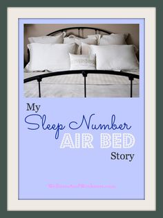 Getting a Sleep Number Bed has helped me sleep more comfortably. Click through to read my story!