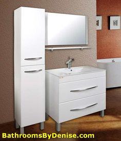 bathroom cabinet glass shelves blau holz furniture pinterest bathroom cabinets compact bathroom and cabinet design