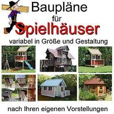 kreative kiste: kinder stelzenhaus für den garten selber bauen, Garten und Bauen
