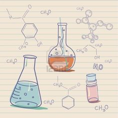 chemistry lab illustrations - Google Search