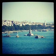 Istanbul - Bosphorus, Maiden's Tower