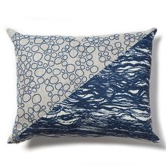 Had fun working in @rebecca_atwood studio today. Saw this pillow from our collaboration. My favorite and still available! #RAxSL #contemporaryembroidery #rebeccaatwooddesigns #embroidery