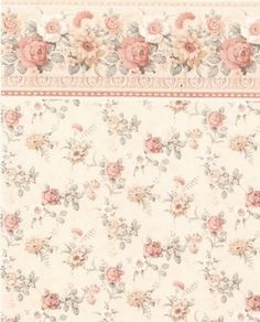 Dollhouse Wallpaper      Model: IB 46 F     Manufactured by: Itsy Bitsy
