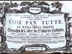 Mozart - Così Fan Tutte, KV 588