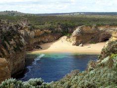 Australie Paisible crique sur la Great Ocean Road