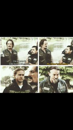 Oh Tig… Words can't explain how much I love you, and your insanity...