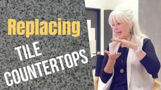 In this episode, we discuss options for replacing tile countertops with granite or another type of tile. Tile Countertops, Home Buying, Granite, Good Things, School, Youtube, Granite Counters, Marble, Youtube Movies