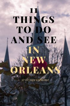 New Orleans Louisiana is a must stop for any food lover and tourist. Between the rich history and even richer food this city is busting with things to do. Use this helpful guide to help you figure out all the things you want to do and see in New Orleans. Usa Travel Guide, Travel Usa, Travel Guides, Canada Travel, Asia Travel, Road Trip, Travel Gadgets, Travel Hacks, Travel Tips