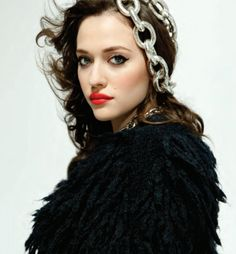 Kat Dennings in Bust magazine