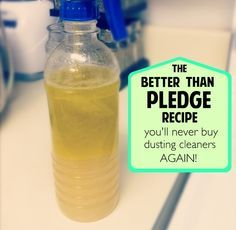 An awesome, natural cleaner that makes your furniture shine better than any store bought cleaner!