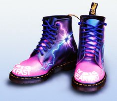 Custom Dr Martens - Big Breakfast Dani Bher by Corbicus Maximus, via Flickr