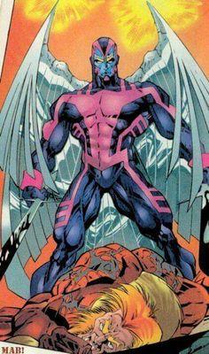 Archangel kills Sabretooth