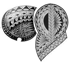 Polynesian Tattoo Sleeve, Maori Tattoo Arm, Tribal Chest Tattoos, Polynesian Tribal Tattoos, Tiki Tattoo, Cool Chest Tattoos, Mauri Tattoo Designs, Band Tattoo Designs, Geometric Tattoo Pattern