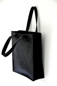 MINIMO Leather tote / handbag  / shopper Available in by BaliELF, $140.00
