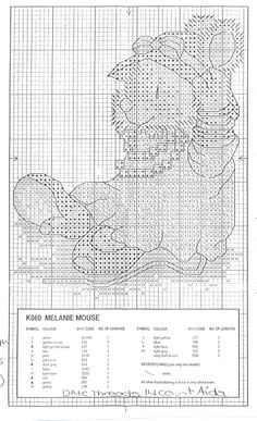 Melanie mouse K860 p