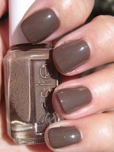 Essie - Mink Muffs - Wears longer than cheap nail polish