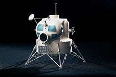 The Lunar Module was an iconic spacecraft which carried two-man crews to and from the Moon's surface during NASA's Apollo Program of the and Along with the Saturn […] Lunar Lander, Apollo Space Program, Moon Surface, Apollo Missions, Major Tom, Space Museum, Moon Landing, Space Images, Space And Astronomy