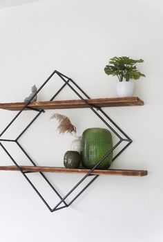 Wall Decor, Shelves, Furniture, Home Decor, Industrial Furniture, Steel, Outer Space, Minimalist Design, House