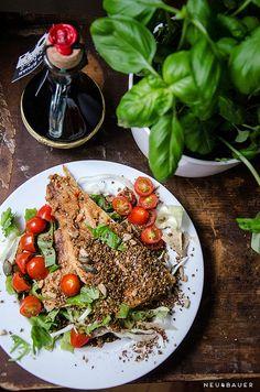 Salad with mackerel fillet by Neu4bauer