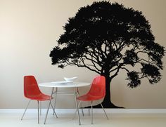 Wall Decal Sticker Bedroom tree branch coma beautiful kitchen room decor idea 154b
