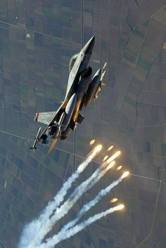 Eyes to the Skies : F-16