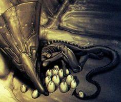 4099350-queen-superman&batman_vs_aliens&predator#2-with_eggs.jpg (543×458)