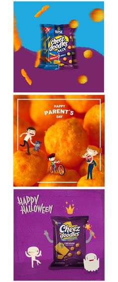 Wise Cheez Doodles | Social Media on Behance