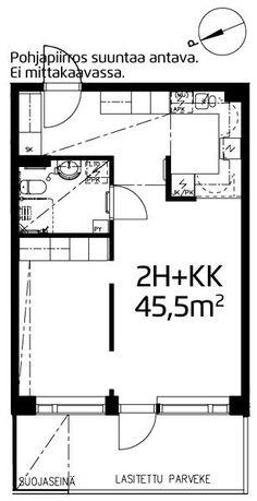 Suopellonkaari, Maunula, Helsinki, 2h+kk 45,5 m², SATO vuokra-asunto